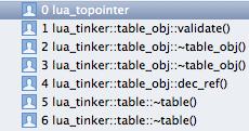 Lua Tinker 사용하기 Sample4 (crash lua_topointer) : 네이버