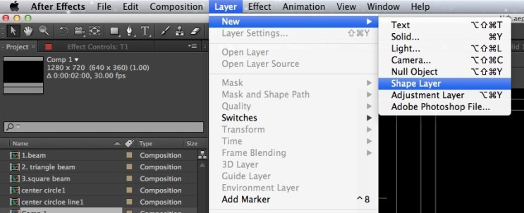 After Effects 기초정리 - Hud design에 필요한 기능들 : 네이버 블로그