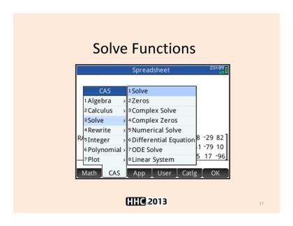 HP PRIME, 유용한 함수들 몇가지 : 네이버 블로그
