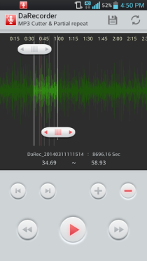 High Qality Android Voice Recorder Free / DaRecorder Free