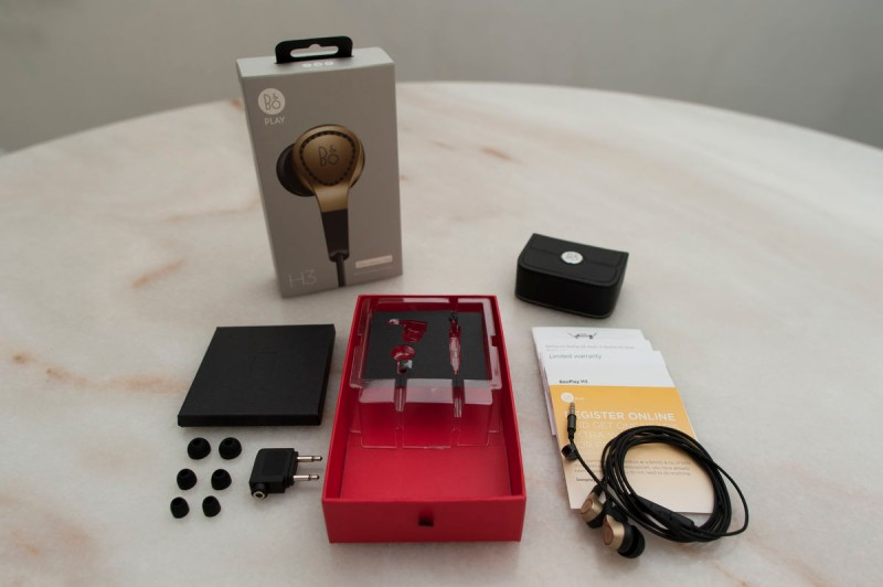 Bang and Olufsen BeoPlay H3 Earphones