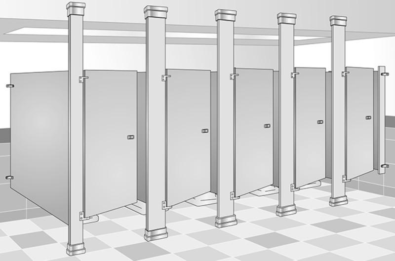 큐비클 사이즈 규격 1 000x1 400x1 800 화장실칸막이 표준 규격사이즈 네이버 블로그