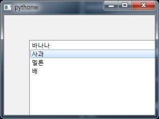 Python : PyQt5」 QListView : 네이버 블로그