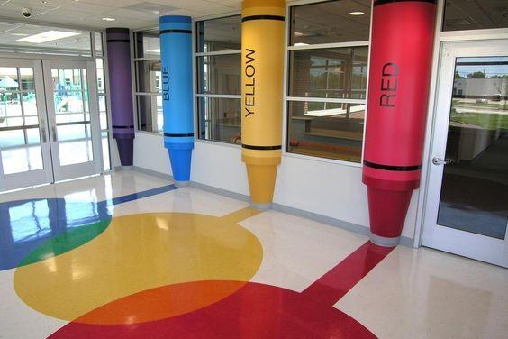 아이스토리 영유아시설 인테리어의 복도 Corridor 디자인 제안 네이버 블로그