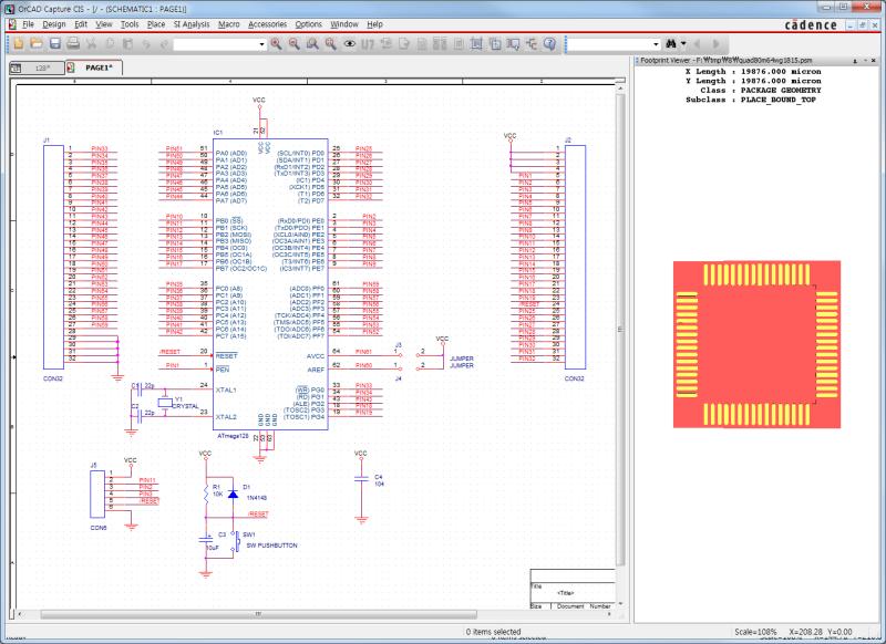 OrCad 16.6] Footprint Viewer 설정하기 : 네이버 블로그 on
