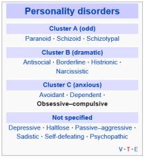 obsessive compulsive personality disorder : 네이버 블로그