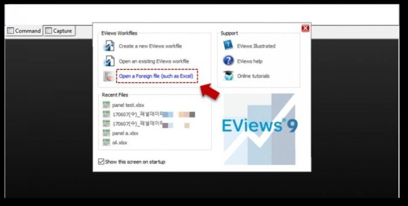 Eviews Help