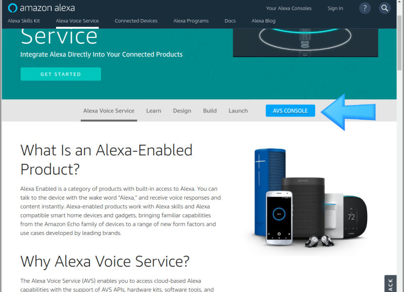 아마존 알렉사 AVS(Alexa Voice Service)를 라즈베리 파이에서