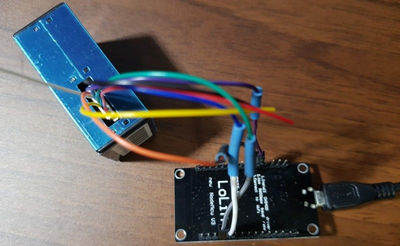 PMS5003 먼지센서를 사용하여 미세 먼지 측정기를 만들자 : 네이버 블로그