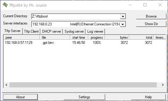 windows10에서 tftp 사용하기 : 네이버 블로그